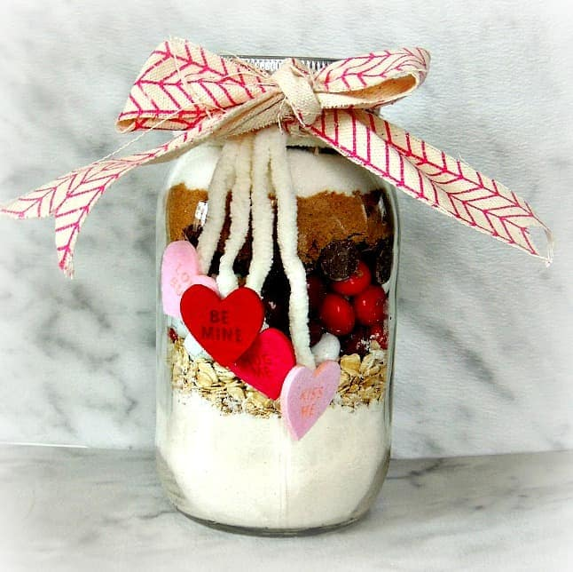 M&M's® Red Velvet valentine's cookie jar | wifeinprogressblog.com #shop #cbias