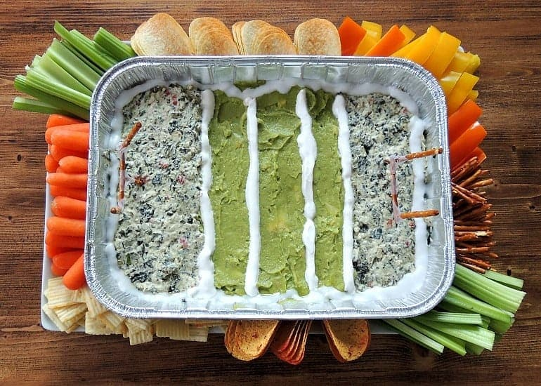 Make a Superbowl Snack Stadium