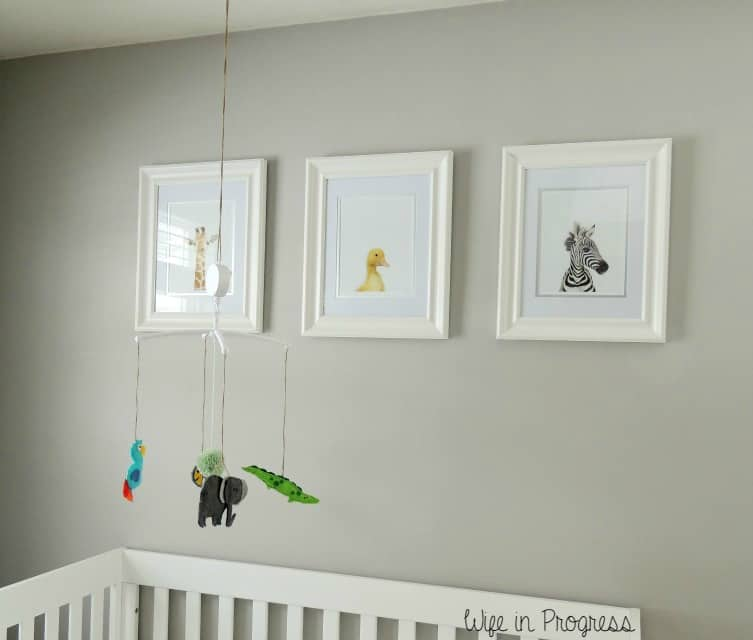 Baby Boy Nursery Crib Mobile