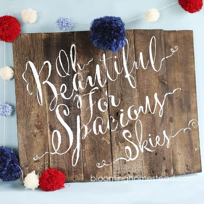 Patriotic-Pallet-Wood-Sign-by-Blooming-Homestead