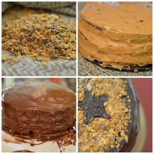 chocolate crunch cake