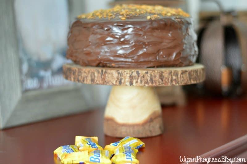 chocolate caramel crunch cake | Wife in Progress