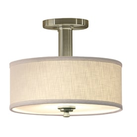 Stylish light fixtures for low height ceilings all under $120
