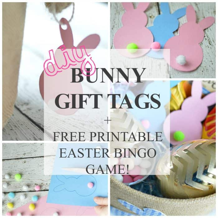 photo regarding Diy Gift Tags Free Printable identified as Cost-free Printable Easter Bunny Reward Tags + Printable Match